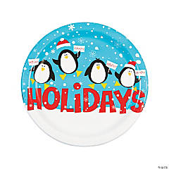 Penguin Pop Dinner Plates