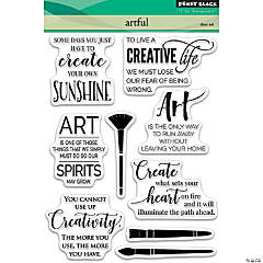 Penny Black Clear Stamps-Artful