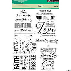 Penny Black Clear Stamps-Faith