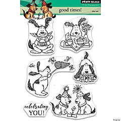 Penny Black Clear Stamps-Good Times