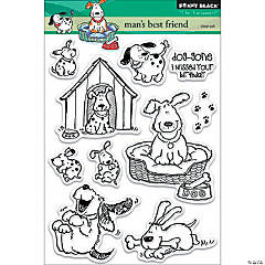Penny Black Clear Stamps-Man'S Best Friend