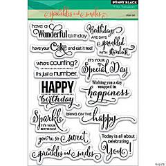 Penny Black Clear Stamps-Sprinkles & Smiles