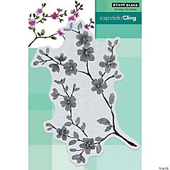 Penny Black Cling Stamps-Blissful Blossoms