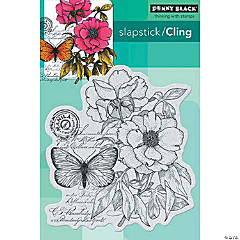 Penny Black Cling Stamps-Botanical Notes