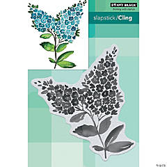 Penny Black Cling Stamps-Lilacs