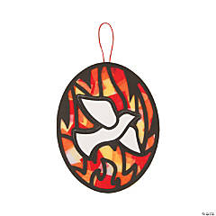 Pentecost Tissue Paper Sign Craft Kit