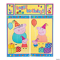 Peppa Pig™ Backdrop Set