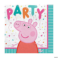 Peppa Pig Beverage Napkins