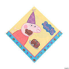 Peppa Pig Luncheon Napkins