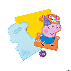 Peppa Pig™ Thank You Cards