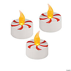 Peppermint Battery-Operated Tea Lights