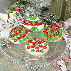 Peppermint Candy Cookies