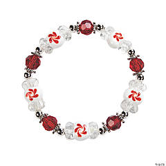 Peppermint Lampwork Bracelet Kit