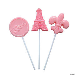Perfectly Paris Character Lollipops