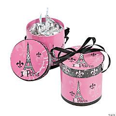 Perfectly Paris Hat Favor Boxes