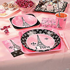 Perfectly Paris Party Supplies