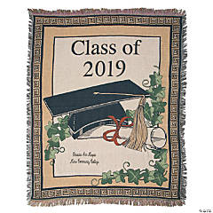 Personalized 2018 Graduate Throw