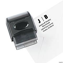 Personalized Address Modern Self-Inking Stamper