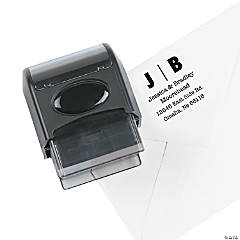 Personalized Address Self-Inking Stamper - Modern