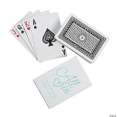 Personalized All In Playing Cards