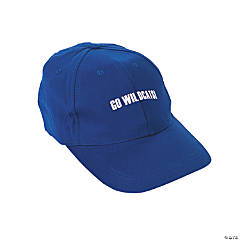 Personalized Baseball Caps - Blue