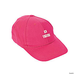 Personalized Baseball Caps - Dark Pink