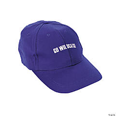 Personalized Baseball Caps - Purple