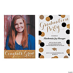 2018 Graduation Party Invitations Custom Invites