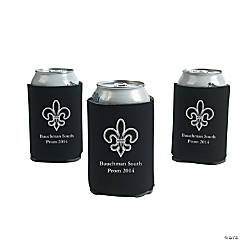 Personalized Black Paris Can Covers