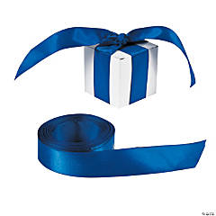 Personalized Blue Ribbon - 3/4