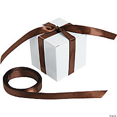 Personalized Brown Ribbon - 3/8'