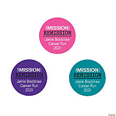 Personalized Cancer Remission Favor Stickers