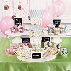 Personalized Candy Buffet Idea
