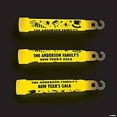 Personalized Celebrations Glow Sticks