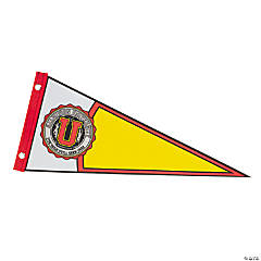 Personalized Christian Collegiate Pennant Flag