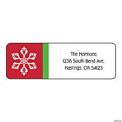 Personalized Christmas Return Address Labels