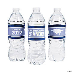 Personalized Class of Water Bottle Labels