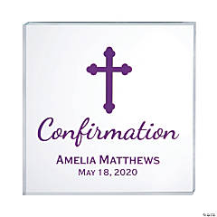 Personalized Confirmation Sign