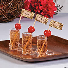 Personalized Cowboy Shot Glasses Idea