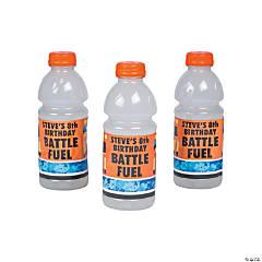 Personalized Dart Battle Sports Drink Bottle Labels