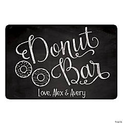 Personalized Donut Bar Sign