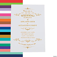 Wedding Invitations Custom Invites DIY Invitations