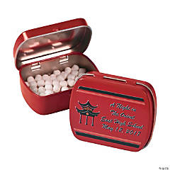 Personalized Far East Mint Tins
