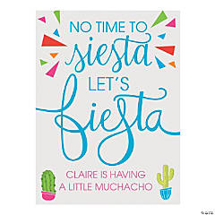 Personalized Fiesta Sign