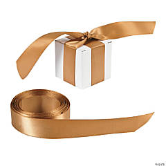 Personalized Gold Ribbon - 7/8