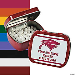 Personalized Graduation Mint Tins