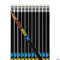 Personalized 2014 Graduation Pencils