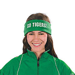 Personalized Green Headbands