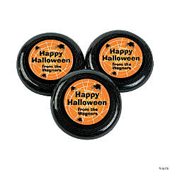 Personalized Halloween Flying Discs