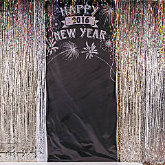 Personalized Happy New Year Photo Booth Backdrop